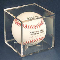 Baseball Holder Squares w/ UV Protection Pro-Mold Case (36)