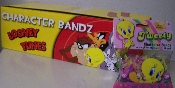 Looney Tunes Tweety Bird Logo Silly Bandz Box (240)