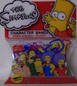 The Simpsons Series 2 Logo Silly Bandz Pack (20)