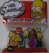 The Simpsons Series 4 Logo Silly Bandz Pack (20)