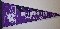 Northwestern Wildcats NCAA Full Size Pennant