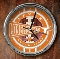 Texas Longhorns Chrome Wall Clock