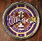 LSU Tigers Chrome Wall Clock