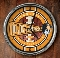 Tennessee Volunteers Chrome Wall Clock