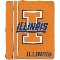 "Illinois Fighting Illini 50""x60"" Plush Fleece Throw Blanket"