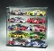 10 Car 1:24 Scale Diecast Car Display Case Slanted Shelves