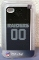 Oakland Raiders iPhone4/iPhone4S Case Jersey Style