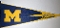 Michigan Wolverines NCAA Full Size Pennant