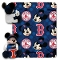 "Boston Red Sox 40""x50"" Disney Hugger Fleece Throw Blanket"