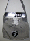 Oakland Raiders NFL Team Hoodie Sling Tailgate Tote Bag Purse