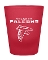 Atlanta Falcons NFL 2 oz Frosted Shot Glass