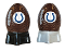 Indianapolis Colts NFL Salt and Pepper Shakers Ceramic