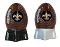 New Orleans Saints NFL Salt and Pepper Shakers Ceramic