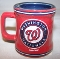 Washington Nationals 2oz Mini Sculpted Mini Mug Style Shot Glass