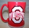 Ohio State Buckeyes 15 oz Sculpted Relief Mug Coffee Cup