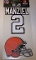 Johnny Manziel Cleveland Browns Decal 2 pack