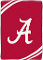 "Alabama Crimson Tide 60""x80"" Plush Raschel Throw Blanket"