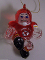 Kansas City Chiefs Crystal Halfback Christmas Tree Ornament