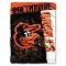 "Baltimore Orioles 60""x80"" Plush Raschel Throw Blanket"