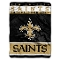 "New Orleans Saints 60""x80"" Plush Throw Blanket"