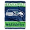 "Seattle Seahawks 60""x80"" Plush Throw Blanket"