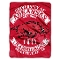 "Arkansas Razorbacks 60""x80"" Plush Raschel Throw Blanket"