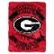 "Georgia Bulldogs 60""x80"" Plush Raschel Throw Blanket"