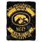 "Iowa Hawkeyes 60""x80"" Plush Raschel Throw Blanket"