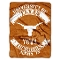 "Texas Longhorns 60""x80"" Plush Raschel Throw Blanket"