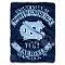 "North Carolina Tar Heels 60""x80"" Plush Raschel Throw Blanket"