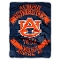 "Auburn Tigers 60""x80"" Plush Raschel Throw Blanket"