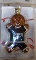 "Philadelphia Eagles 3"" Gingerbread Man Ornament"