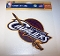 "Cleveland Cavs 8""x8 Color Ultra Decal"