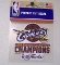 "Cleveland Cavs 2015 East Conference Champs 4""x4"" Decal"