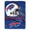 "Buffalo Bills 60""x80"" Plush Raschel Throw Blanket"
