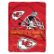 "Kansas City Chiefs 60""x80"" Plush Throw Blanket"