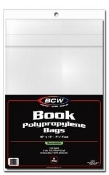 "10"" Resealable Book Bags BCW Brand Case (1,000)"