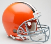 Cleveland Browns Authentic On-Field Helmet Riddell