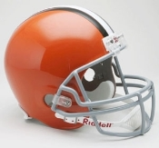 Cleveland Browns Deluxe Replica Helmet Riddell