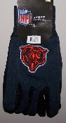 Chicago Bears Two Toned Utility Gloves