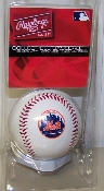 New York Mets Logo Baseball Rawlings