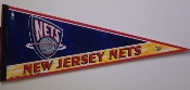 New Jersey Nets Full Size Pennant