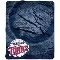 "Minnesota Twins 50""x60"" Plush Fleece Throw Blanket"