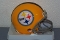Pittsburgh Steelers (62) Throwback Mini Helmet Riddell