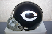 Chicago Bears (62-73) Throwback Mini Helmet Riddell