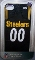 Pittsburgh Steelers iPhone4/iPhone4S Case Jersey Style