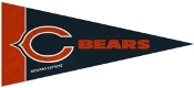 Chicago Bears Mini Pennant 8 Pack Set