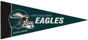 Philadelphia Eagles Mini Pennant 8 Pack Set