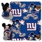 "New York Giants 40""x50"" Disney Hugger Fleece Throw Blanket"