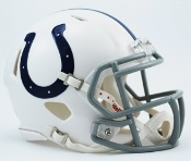 Indianapolis Colts Speed Replica Mini Helmet Riddell
